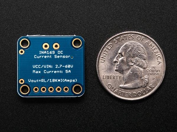 INA169 Analog DC Akım Sensörü Breakout - 60V 5A Maks - Thumbnail