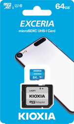 KIOXIA - Kioxia (Toshiba) 64Gb SD Kart Microsdxc