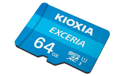 Kioxia (Toshiba) 64Gb SD Kart Microsdxc