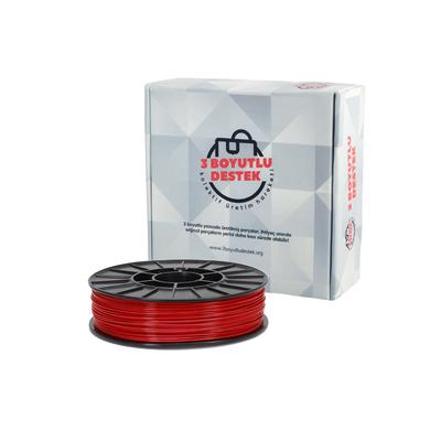 Kırmızı PLA Filament 1,75mm - 3 Boyutlu Destek