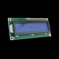 Waveshare - شاشة إلكترونية LCD 1602 إضاءة لون أزرق - 3.3 فولت 2x16 حرف