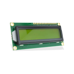 Waveshare - LCD 1602 3.3V Yellow - 2x16 Characters