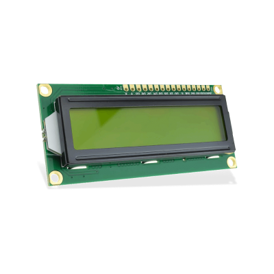 LCD 1602 3.3V Yellow - 2x16 Characters