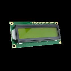 Waveshare - شاشة إلكترونية LCD 1602 إضاءة لون أصفر - 3.3 فولت 2x16 حرف
