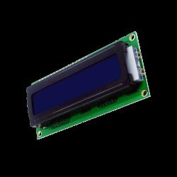 Waveshare - شاشة إلكترونية LCD 1602 إضاءة لون أزرق - 5 فولت 2x16 حرف