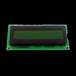 Waveshare - شاشة إلكترونية LCD 1602 إضاءة لون أصفر - 5 فولت 2x16 حرف