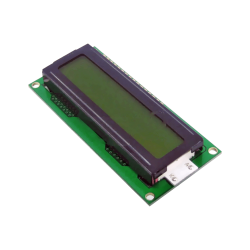 LCD 1602 5V Yellow - 2x16 Characters - Thumbnail