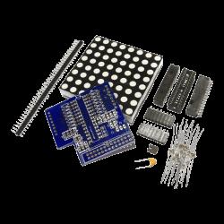 ModMyPi - شبكة إضائة إلكترونية LED لراسبيري باي 64 ضوء