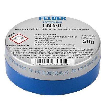Felder Lötfett Lehim Pastası 50 gr