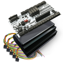Pe2a - لوحة تحكم صناعي MedIOex تعمل مع Raspberry Pi