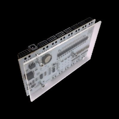 قاعدة زجاج -بلكسي جلاس- للوحة التحكم الصناعي MedIOEx مع Raspberry Pi