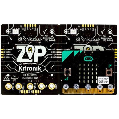 micro:bit Kare ZIP - RGB Modülü