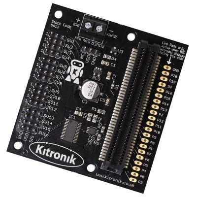 Micro:bit 16 Kanallı Servo Motor Kartı
