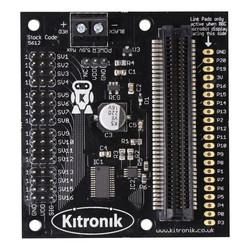 Micro:bit 16 Kanallı Servo Motor Kartı - Thumbnail