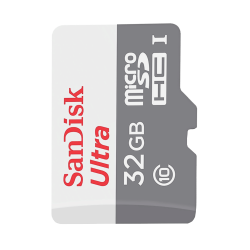 SanDisk - MicroSD Sandisk 32GB Class 10 Adaptörsüz