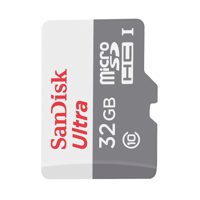 كرت ذاكرة MicroSD Sandisk 32GB Class 10 بدون ادابتر