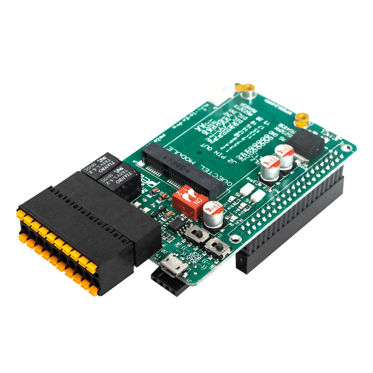 MiniIOEx 3G Support Raspberry Pi IO Shield | Samm Market