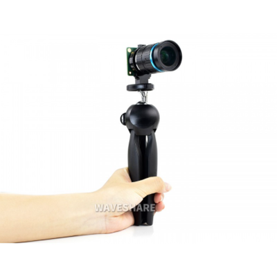 Mini Tripod 360 ° rotation for Raspberry Pi HQ Camera