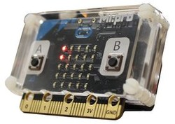 Kitronik - MI:Pro-Micro:bit Koruma Kasası-Şeffaf