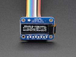 Monochrome 128x32 SPI OLED Grafik Display - Thumbnail