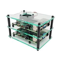 قاعدة راسبيري باي متعددة الطبقات Multi-Pi Raspberry Pi - Thumbnail