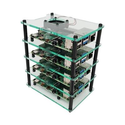قاعدة راسبيري باي متعددة الطبقات Multi-Pi Raspberry Pi