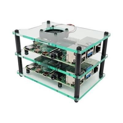 Multi-Pi Stackable Raspberry Pi Case