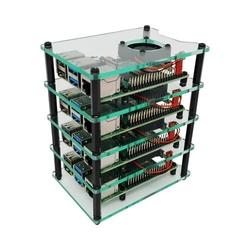 Multi-Pi Stackable Raspberry Pi Case - Thumbnail