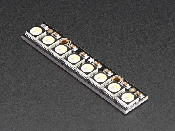 Adafruit - NeoPixel Çubuk - 8 x 5050 RGBW LED'ler - Doğal Beyaz - 4500K