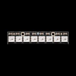 Adafruit - NeoPixel Çubuk - 8 x WS2812 5050 RGB LED+Sürücü