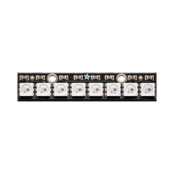 NeoPixel Çubuk 8x WS2812 5050 RGB LED Kartı Dahili Sürücülü - Thumbnail