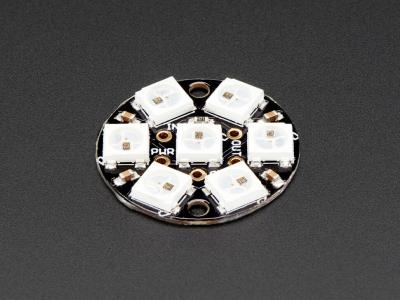 NeoPixel Jewel - Entegre Sürücülü 7 x 5050 RGB LED