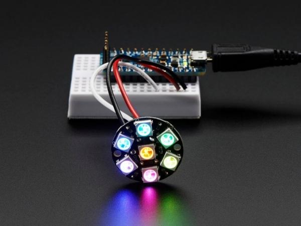 NeoPixel Jewel - Entegre Sürücülü 7 x 5050 RGB LED - Thumbnail