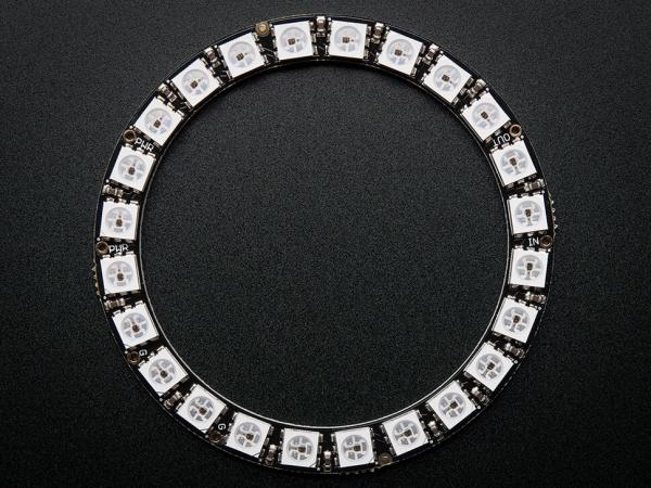 NeoPixel Ring - Entegre Sürücülü 24 x 5050 RGB LED - Thumbnail