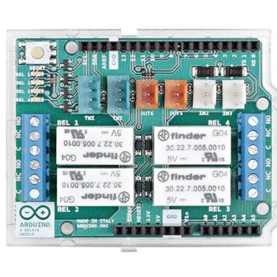 Orjinal Arduino 4'lü Röle Shield