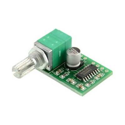 PAM8403 2x3w Mini Dijital Amplifikatör Pot Ayarlı Modül