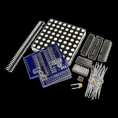 Pi Matrix Raspberry Pi LED Matrix and Driver Board Kit