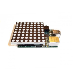 Pi Matrix Raspberry Pi LED Matrix and Driver Board Kit - Thumbnail
