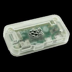 ModMyPi - علبة -كفر- حماية Pi ZERO لون شفاف جليدي