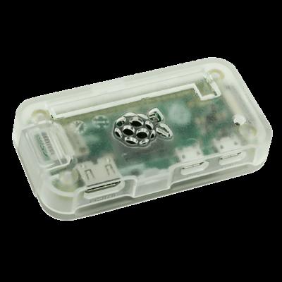 علبة -كفر- حماية Pi ZERO لون شفاف جليدي