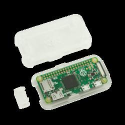 علبة -كفر- حماية Pi ZERO لون شفاف جليدي - Thumbnail