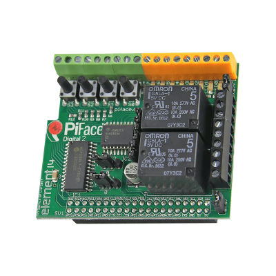 PiFace Digital 2 I/O Expansion Board