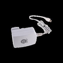 Raspberry Pi - محول كهرباء راسبيري باي الرسمي 5 فولت 1.2 أمبير