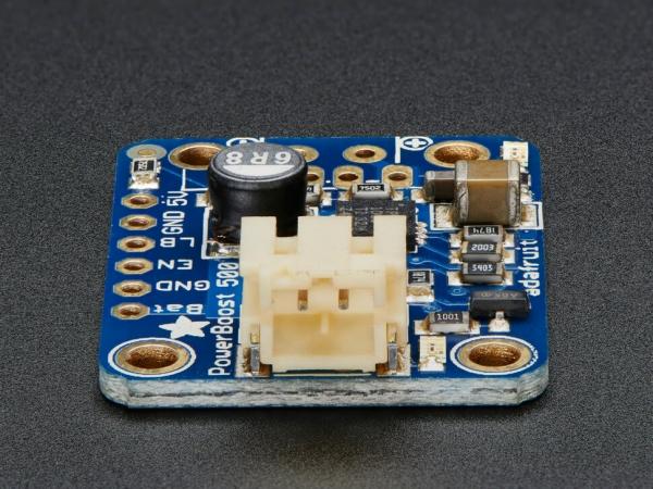 PowerBoost 500 Basic - 5V USB Boost @ 1.8V+'dan 500mA - Thumbnail