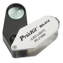 Proskit - Proskit MA-014 Işıklı Büyüteç