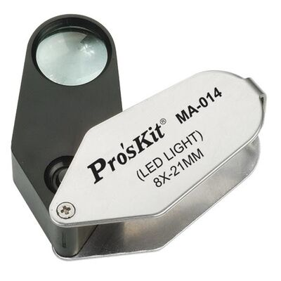 Proskit MA-014 Işıklı Büyüteç