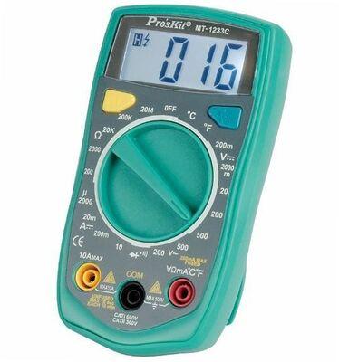 Proskit MT-1233C Dijital Multi̇metre (Sıcaklık)