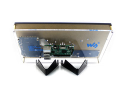 Raspberry Pi 10.1'' 1024x600 HDMI Dokunmatik LCD(H) Ekran Koruma Kasalı - Thumbnail