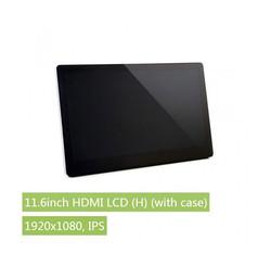 Waveshare - Raspberry Pi 11.6'' 1920 x 1080 HDMI Dokunmatik IPS LCD(H) Ekran Koruma Kasalı