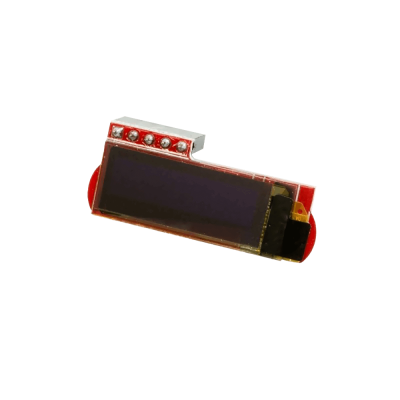 شاشة OLED صغيرة 128x32 لراسبيري باي